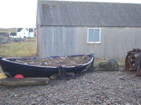 Boat garden, Hillswick, Shetland