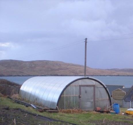 Polytunnel, Shetland
