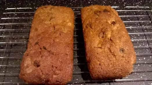 Mincemeat and apple gingerbread